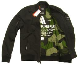 Superdry Men's Artillery Black Rookie Air Corps Bomber Jacke