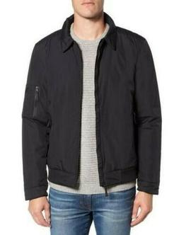 The North Face Men's Barstol Aviator Bomber Jacket in Black