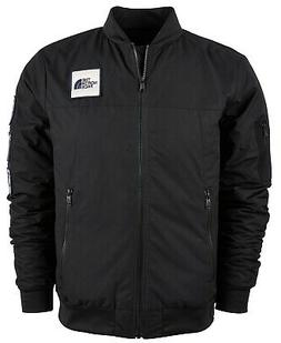 The North Face Men's Black Flight Aviator Bomber Jacket, XL