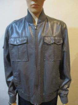 Men's Kenneth Cole Reaction Gray Bomber Jacket size XL
