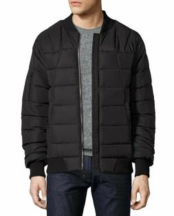 The North Face Men's Kanatak Goose Down Bomber Jacket in Bla