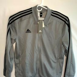 adidas Men's L  Tricot Track Bomber Jacket Full Zip Lined Gr