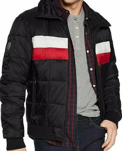 Tommy Hilfiger Men's Quilted Bomber Hoody