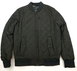 Calvin Klein Men's Quilted Bomber Jacket With Patches Outerw