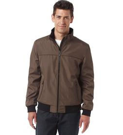 Calvin Klein men's Ripstop Poly Bonded Bomber jacket brown M