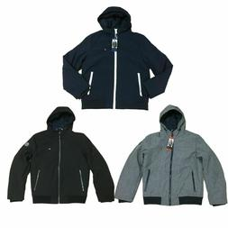 Tommy Hilfiger Men's Softshell Insulated Full Zip Hooded Bom