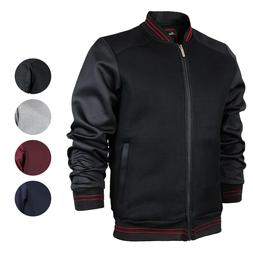 Men's Lightweight Multi Pocket Letterman Varsity Mesh Track