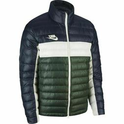 Nike Men's Synthetic-Fill PUFFER JACKET Bomber Down Bubble H