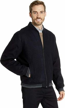 Calvin Klein Men's Wool Bomber Coat $275 WINTER JACKET, BLAC