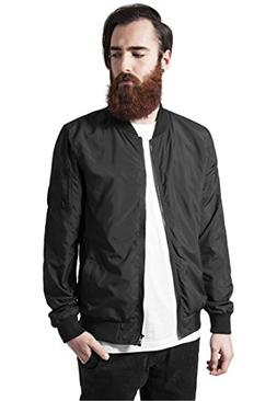 Urban Classics Mens Bomber Jacket TB1258 Light Bomber Jacket