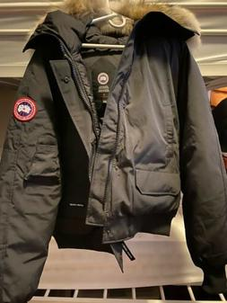 Mens Canada Goose Chilliwack Bomber Jacket , BLACK SIZE XL