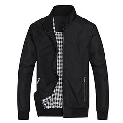 mens casual jacket outdoor sportswear windbreaker lightweigh