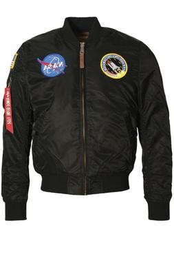 Mens Jacket ALPHA INDUSTRIES MA-1 VF NASA Astronaut Flight j