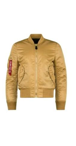 Alpha Industries Mens MA-1 Slim/Euro Fit Bomber Flight Jacke