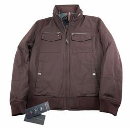 Tommy Hilfiger Mens Water Wind Resistant Performance Bomber