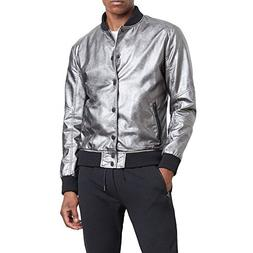 Reaction Kenneth Cole Metallic Bomber Jacket