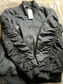 NEW   ADIDAS ORIGINALS BLACK BOMBER WOMENS JACKET