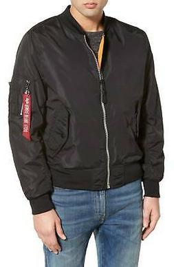 Alpha Industries NEW Black Mens Size XL Bomber Full Zip Jack