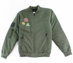 The North Face NEW Green Mens Large L Embroidered Patch Bomb