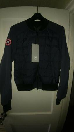 New Canada Goose Hanley Down Filled Bomber Jacket, Polar Sea
