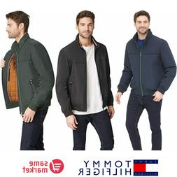NEW!!! Tommy Hilfiger Men's Performance Faux Memory Bomber J