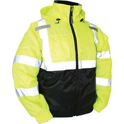 New Tingley Rubber Lime Green Bomber Ii High Visibility Wate