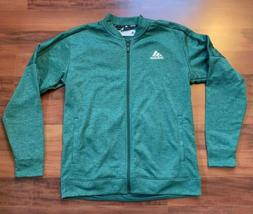 NEW Adidas Team Issue Bomber Jacket $60 Men's Large L Green