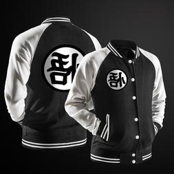 New Trend Spring Black Varsity Baseball <font><b>Jacket</b><