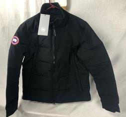 NEW CANADA GOOSE WOLFORD JACKET MENS BLACK MEDIUM M HOLOGRAM