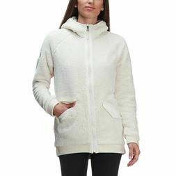 New Women's The North Face Campshire Bomber Coat Fleece Hood