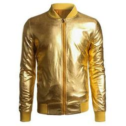 night club style shiny jacket