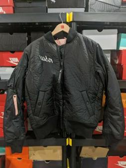 Nike NSW Synthetic Fill Bomber Jacket Black Pink 928917-010