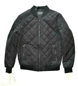 nwt 225 quilted black bomber jacket cm908151