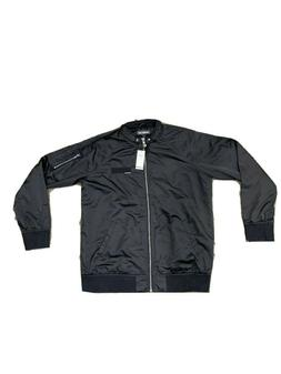NWT MEMBER'S ONLY Iconic Racer Jacket Black Size - XL