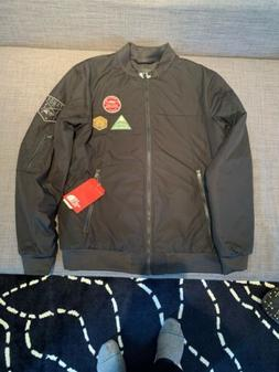 NWT The North Face Men's Black Flight Aviator Bomber Jacket