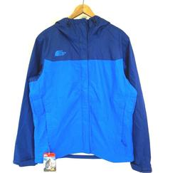 NWT THE NORTH FACE Men's Bomber Blue Venture Hooded Waterpro