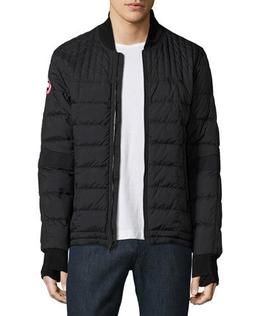 NWT Canada Goose Mens Dunham Down   Bomber Jacket Black Size