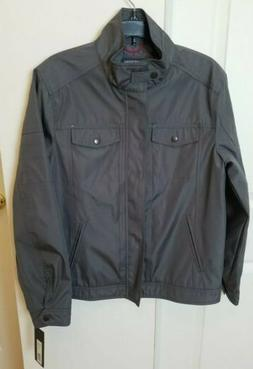 NWT Kenneth Cole Reaction Mens Sz Small Bomber Jacket Full Z