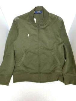 NWT Ralph Lauren Polo Bomber Jacket Olive Small