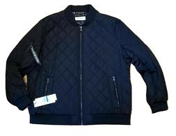Calvin Klein Quilted Bomber Baseball Jacket Water Wind Resis