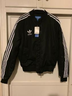 rare black striped bomber jacket br7122 mens