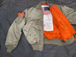 RARE Alpha Industries Limited Edition MA-1 Blood Chit Flight