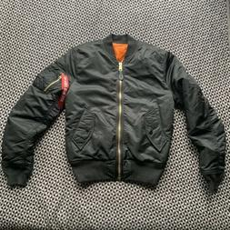 Rare! NWOT Alpha Industries Proud Mary Bomber Jacket Small