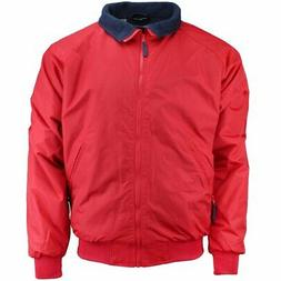 River's End Bomber Jacket  - Red - Mens