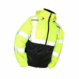 Tingley Rubber J26112 Bomber II Jacket, 3X-Large, Lime Green