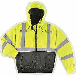 Tingley Rubber J26112 Bomber II Lime Green Winter Jacket