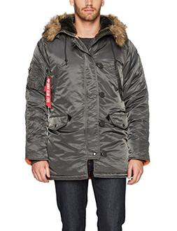 Men's Alpha Industries Slim Fit N-3B Parka, Size Medium - Gr
