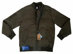 VANS  QUILTED BOMBER JACKET COAT GREEN MENS SIZE SMALL S DUP