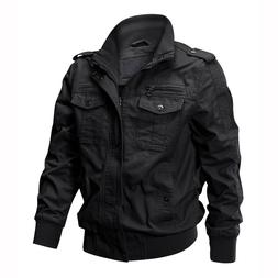 Tactical Men's Bomber Jacket Army Field Combat Military Cott