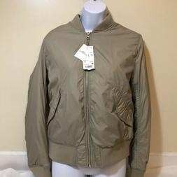 Uniqlo Women's M-1 Style Bomber Jacket Size Medium